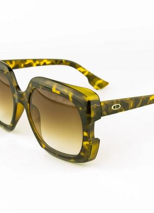 Женские солнцезащитные очки - леопардовые