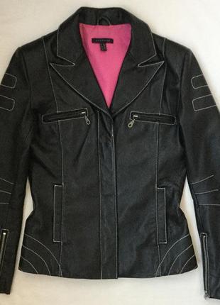 Кожаная куртка размер 8