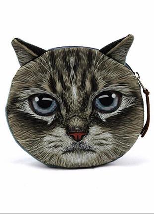 Красивый кошелёк кот / кошка