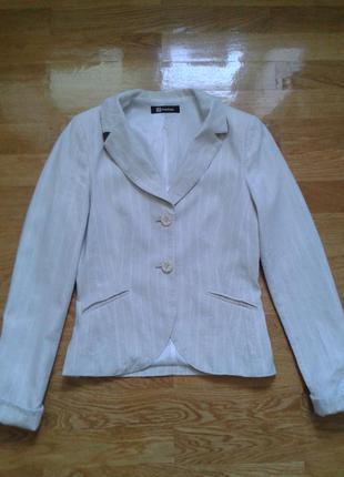 Льняной пиджак monton
