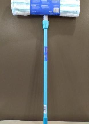 Телескопическая разборная швабра для полов aquapur