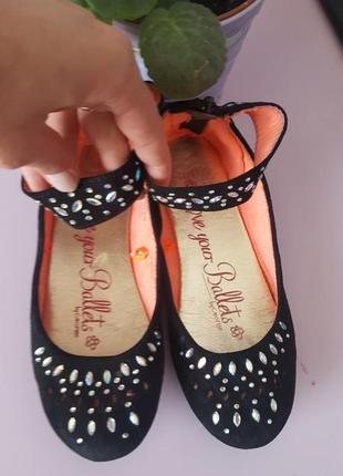 Туфли балетки для девочки george
