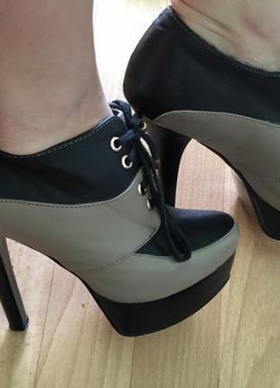 Ботинки (ботильоны, туфли, обувь женская) 37р.