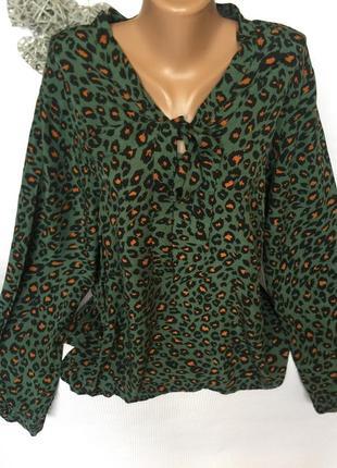 Стильная трендовая рубашка , блуза , вискоза 100%