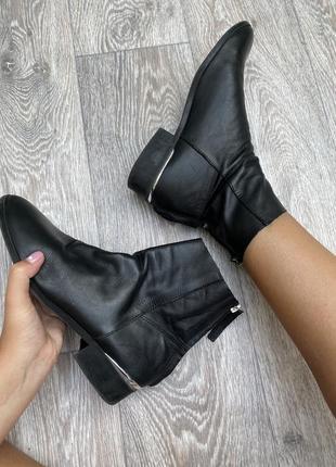 Кожаные ботиночки topshop