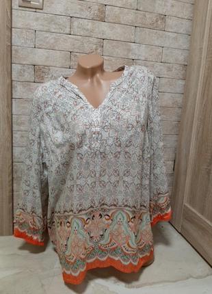 Красивая блуза шёлк  лиоцел в составе