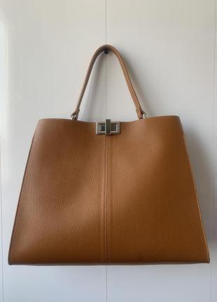 Женская кожаная сумка (италия)