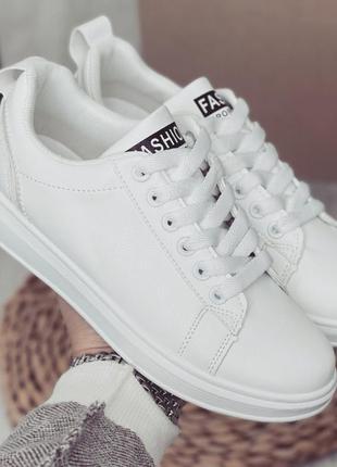 Базовые белые кеды❤️💖