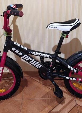 Велосипед pride arthur на 3-7 лет