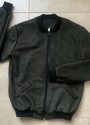 Бомбер куртка свитшот