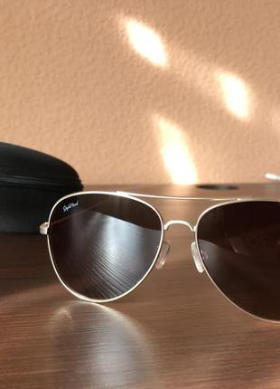 Очки солнцезащитные style mark, поляризация, авиаторы, новые