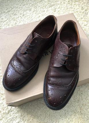 Туфли 👞 vero cuoio кожаные!