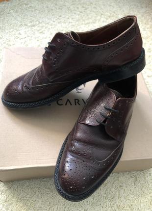 Туфли 👞 vero cuoio кожаные!2 фото