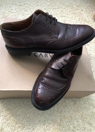 Туфли 👞 vero cuoio кожаные!3 фото