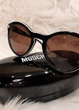 Солнцезащитные очки moschino mo 724 01 оригинал (из германии)