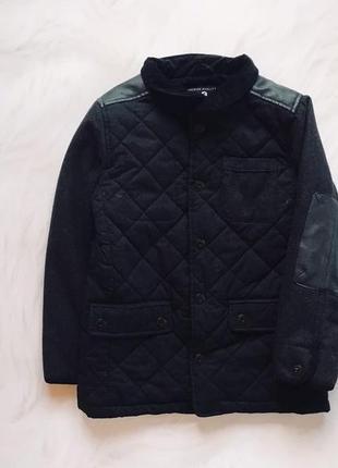Next  стильное деми пальто  на мальчика  7 лет