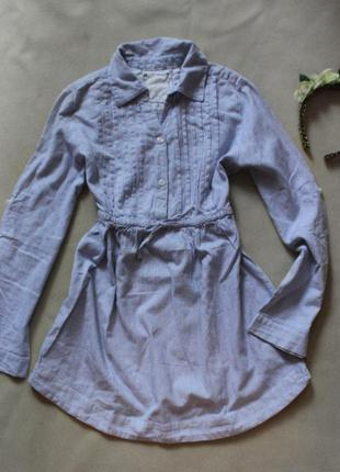 Красивое детское платье-туника