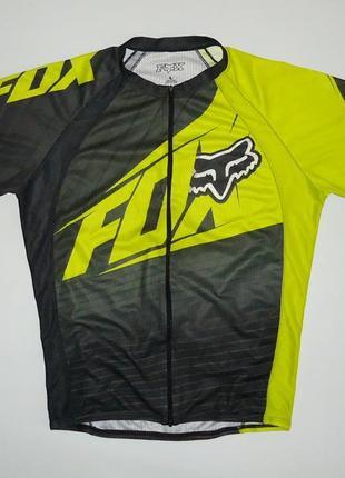 Велофутболка велоджерси fox bike cycling (l)