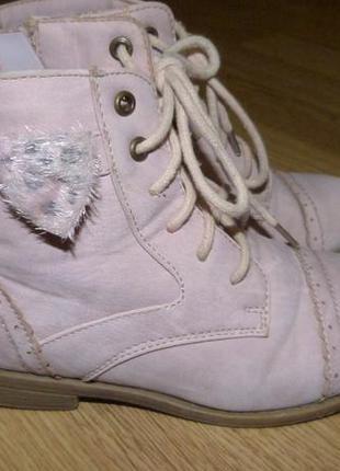 Симпатичные кожаные ботиночки, р.28