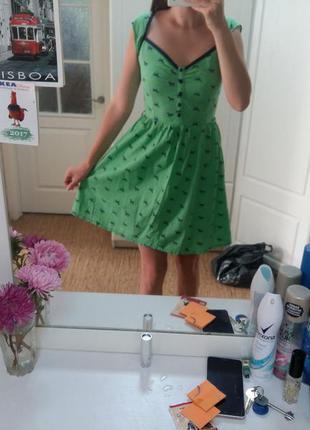 Яркое платье в стиле zara