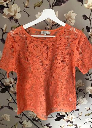 Легкая кружевная блуза