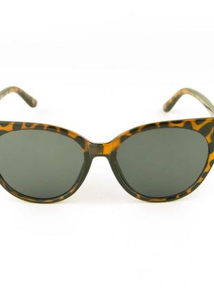 Женские очки кошачий глаз - леопардовые