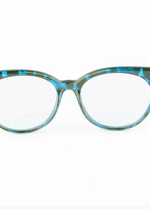 Имиджевые женские очки кошачий глаз - леопардовые