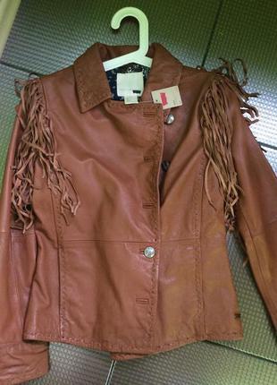 Levi's levis новая кожаная куртка