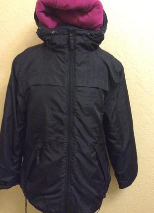 Зимняя длинная куртка материал мембрана р.xl-xxl