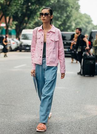 Джинсовая ветровка пиджак куртка
