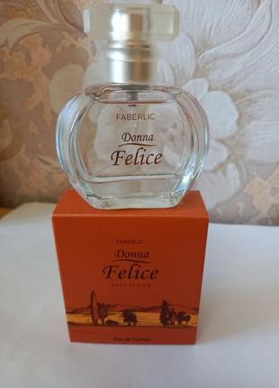 Парфюмерная вода для женщин donna felice фаберлик 30 мл код 3019
