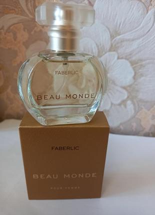 Парфюмерная вода для женщин beau monde фаберлик 30 мл код 3049