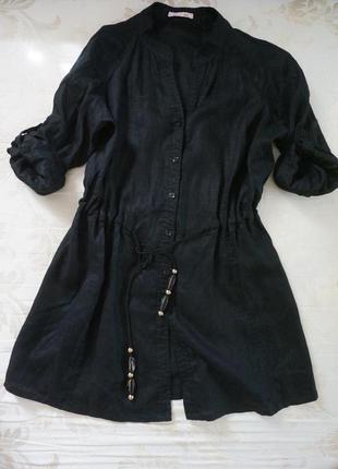 Рубашка-платье basler