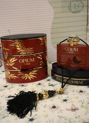 Духи винтажные yves saint laurent opium, 7,5 мл