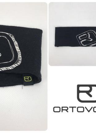 Ortovox повязка мериносовая оригинал бег лыжи вело