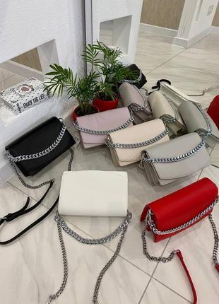 Стильная сумочка с цепочкой