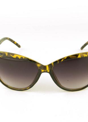 Очки женские солнцезащитные - леопардовые