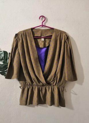 Винтажная блуза из  фрг, винтаж
