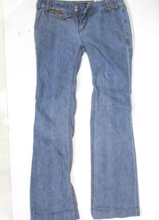 Оригинальные джинсы d&g, 42, клеш, отл сост!