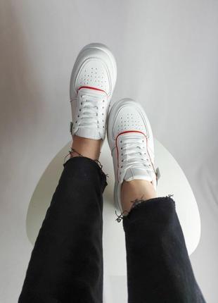 Кроссовки белые женские отличное качество