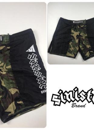 Sinister brand mma fighting shorts шорты единоборства сша usa