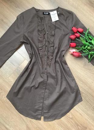 Туника блузка рубашка