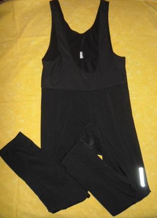 Вело комбинезон штаны утепленные с памперсом размер xxl