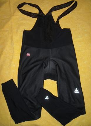 Вело комбинезон штаны утепленные с памперсом размер xl-54