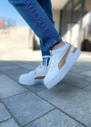 Кроссовки женские 🔥 puma cali gold4 фото