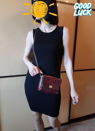 Распродажа! платье со вставками гипюра h&m