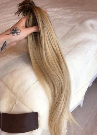 Натуральные качественные волосы с растяжкой