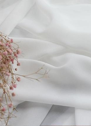 Тюль турецька із шифону 300x270 cm біла