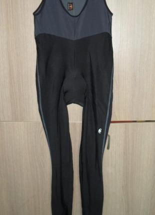 Вело комбинезон штаны с памперсом размер xl