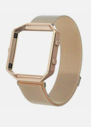 Запасной ремешок + рамка для часов fitbit blaze
